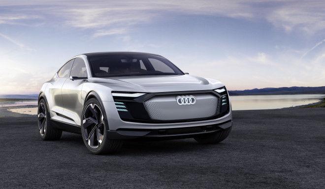 Audi e-tron Sportback concept 上海車展全球首發