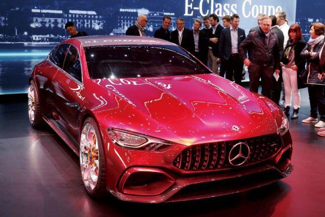 劍指PanameraMercedes-AMG GT Concept