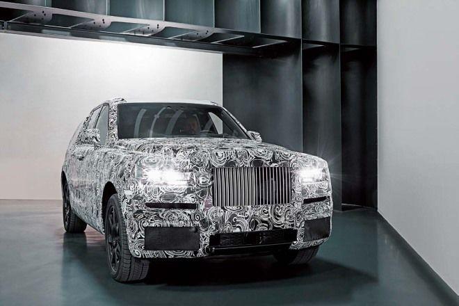 Rolls-Royce百年首款「HSV」照片曝光