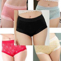 闕蘭絹100%蠶絲內褲超值福袋5件組(隨機出貨)