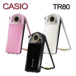 CASIO卡西歐 TR80 自拍神器 數位相機 美肌 (中文平輸)