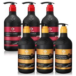 Drs Formula 台塑生醫 第二代全新升級配方髮根強化/控油抗屑洗髮精6+2入團購組