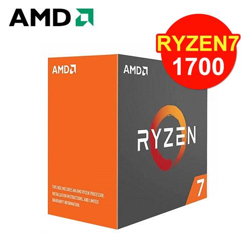 AMD Ryzen 7 1700 <br>八核心處理器